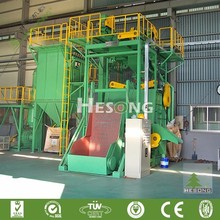 GN Series Tracked Shot Blast Clean-up Machine For Surface Cleaning