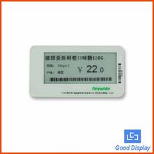rfid smart warehouse system shelf label solution