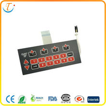 mini membrane keyboard with fpc circuit