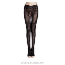 hot sale cheap sexy blackJacquard fishnet stocking brand HL167