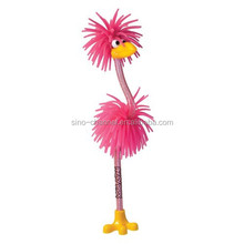 Wholesale novelty custom Crazy Pink Bird Pen