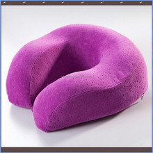 U shaped memory foam travel neck pillow