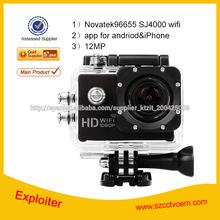 sj 4000 cámara a prueba de agua Full HD 1080p Video Foto Helmetcam SJ4000 DV