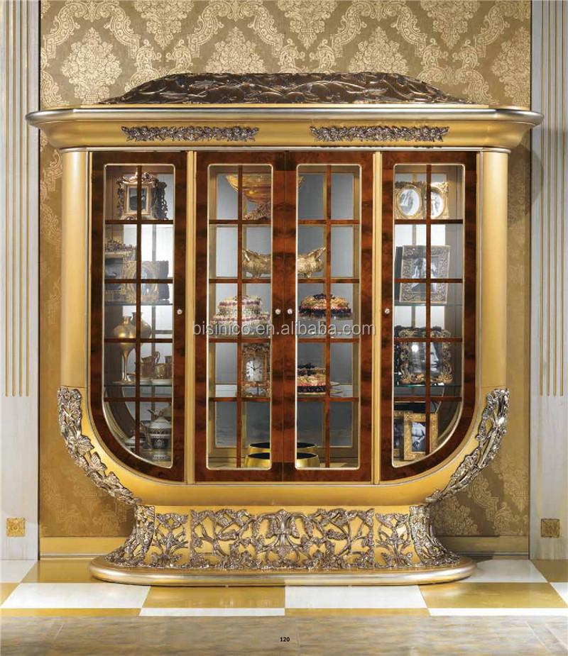 Europese nieuwe klassieke luxe design woonkamer kast scherm ...
