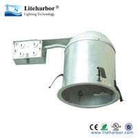 best price 6 inch Non-IC led remodel housing Montreal