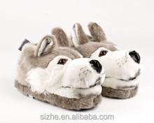 sz12-0044 new design plush women pcu shoes wedding giveaways soft heel bedroom sandals