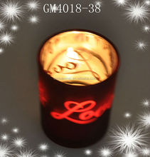 Fashion candle holder glass for home decorations