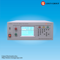 LS9934 High quality leakage tester for Electrical equipment or lighting test meet IEC/EN60335-1 IEC60590 requirement