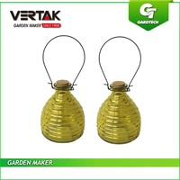 Complete corporate structure good garden glass insect trap