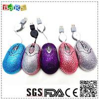 Wholesale best reinstone computer mouse