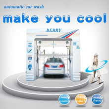 automatic car wash machine with 7 brushes equipment system