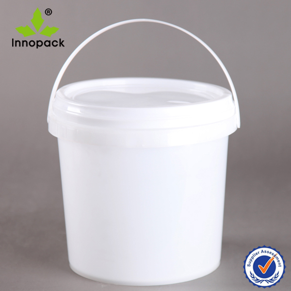 Plastic 1 gallon clear paint bucket glue can 4 liter with for 1 gallon clear plastic paint cans