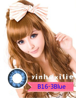 2014 best Hot selling korean cosmetic wholesale colourful contact lenses hot sale 2tone color contact lens