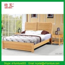 2016 Furniture bedroom sets king size bamboo bed