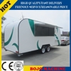 2015 HOT SALES BEST QUALITY food truck with awning lunch food truck overseas food truck