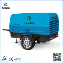 Double Screw Diesel Mobile Air Compressor
