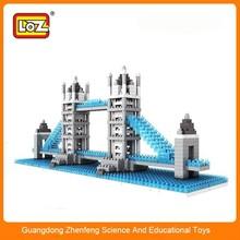Micro bloques, Británica Tower Bridge modelo, Pequeño sistema del bloque