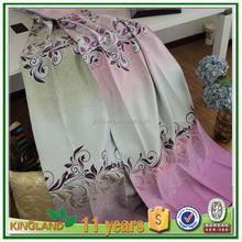 Popular curtain fabrics turkey hotel curtain drapes