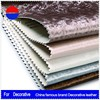 Artificial color pvc synthetic leather for Decorative