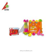 Plastic building blocks base castle series intelligence toy building blocks toys