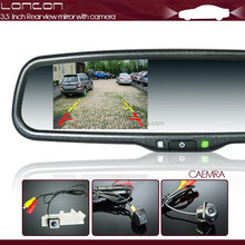 3.5 inch electric rearview mirror with AV-IN for camera special for ford ranger 2012