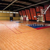 China Cheap Maple indoor basketball court flooring
