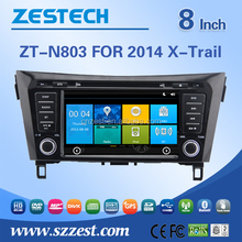 For nissan x-trail car dvd player with dvd/cd/mp3/mp4/bluetooth/radio/rds/tv/gps/3g!