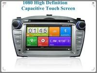 1080 High Definition Capacitive touch screen Car audio for Hyundai IX35,car Bluetooth MP3 player