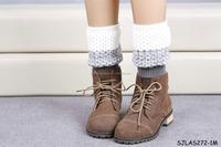 2015 New Style Knit leg wear Women Leg warmers Boot cuff