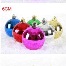 hot sale clear glass ball christmas ornament christmas tree hanging ball