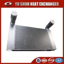 china supplier custom brazed plate and bar charge air cooler for heavy duty