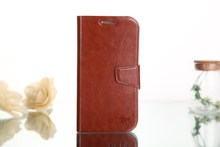 Exquisite and Cheap leather cell phone case for samsung s4 5""
