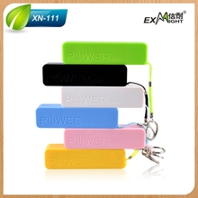 Low price Hot sale mobile phone 2600mah keychain portable power bank