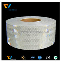 road checkered clear 3M reflective tape for safety