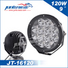 High power super bright led light led 120w 12v 9 inch offroad led driving light JT-16120