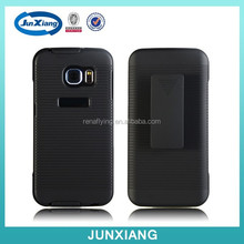 Belt Clip Holster Combo Cell Phone Case With Kick Stand Cover for Samsung S6 edge