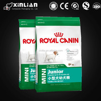 custom printed dog pet food bag, stand up pet food bag with zipper, pet food bag for dog/cat/horse