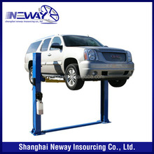 2 post base plate car lifter for sale