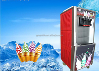 five handles and 5 / five flavours of rainbow ice cream machine