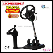 Guangzhou electric wheel for car games for adult party arcade racing game