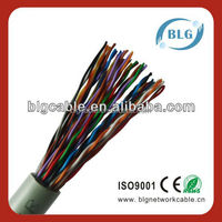 High Quality Low Price Multi Pair Cable UTP 24awg Cat5e Lan Cable 100 Pair