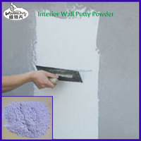 eco-friendly home interior decoration with wall putty