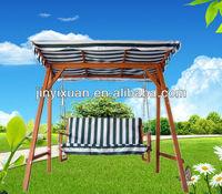Hot sales! Garden patio swing with canopy / swing chair / Yard swing