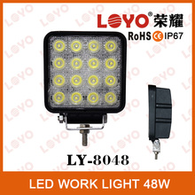 led driving light! 48w offroad led work lamp, flood 48w led work lamp, 48 watt led worklight