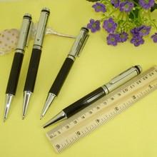 Silver & Black Ballpoint Pen Epoxy logo Branded Ball Pens Parker Style Jumbo Refill Retractable Promotion Pens