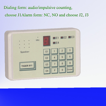 low cost automatic cell phone auto pstn dialer with CE certificate AJ-TG911