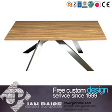 Living room dining room furniture dining table solid wood