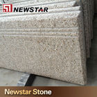 Chinese Golden Yellow Granite Tiles And Stairs