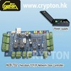 Two Door TCP/IP Network Door Controller with Access Control Power Supply for Door Controller