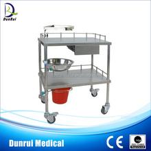 Foshan DR-329 Stainless Steel Instrument Nursing Medical Cart